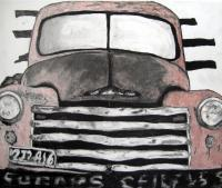 Old Trucks - Old Truck 1 - Mixed Media