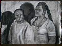 Family Members - Picture 063 - Charcoal Art