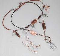 Faith By Cats Eye Gems - Sterling And Fine Silver Jewelry - By Melanie Herridge, Hand Forged Sterling  Copper Jewelry Artist