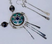 Kaleidoscope By Cats Eye Gems - Natural Gem Stones Jewelry - By Melanie Herridge, Hand Forged Sterling Silver Jewelry Artist
