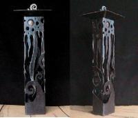 Sculpture - Fire And Water - Steel And Copper