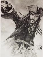 Tv  Movies - Jack Sparrow - Pencil  Paper