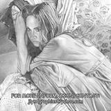 Fiona Apple - Pencil On Cardstock Drawings - By James Lynd, Photo Realism Drawing Artist