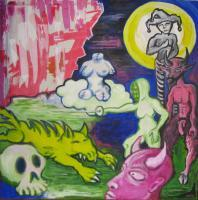Figurative Art - Violent Carneval Of Chaos - Acrylics
