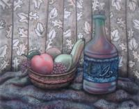 Same Old - Oil On Poster Board Paintings - By Nathan Poston, Stillife Painting Artist
