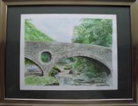Fine Art - Cenarth Bridge - Watercolour