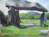 Fine Art - Pentre Ifan And Magic Mountain - Acrylics