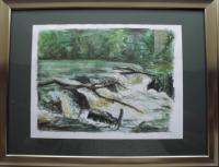 Fine Art - Cenarth Falls - Watercolour