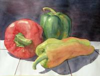 Still Life - Three Amigos - Watercolor