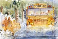 School Days - Rainy Days And Mondays - Watercolor