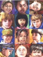 Our Children - Watercolor Paintings - By Freddie Combs, Realistic Painting Artist