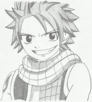 Drawing - Natsu Dragneel - Mechanical Pencil