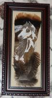 Wild Turkey Feathers - Painted Pony - Acrylic Wild Turkey Feathers