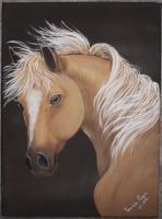 Canvas Paintings - Horse - Acrylic