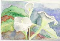Floral Watercolour - Lilies Of The Valley - Water Colour
