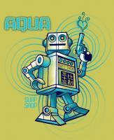 Screen Printed Designs - Aquabot - Screen Print