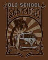 Old School Vw - Screen Print Drawings - By Billy Thomas, Graphic Design Drawing Artist