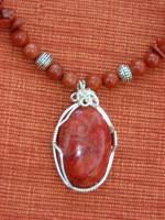 Wire Wrapping - Jasper - Natural Stone