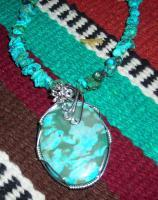 Wire Wrapping - Turquoise - Natural Stone