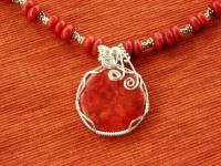 Wire Wrapping - Sponge Coral - Natural And Manmade Stones
