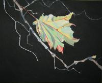 Work Series - The Last Leaf - Acrylic On Canvass