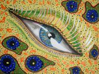 Experience Series - Amoeb-Eye - Acrylic On Canvass