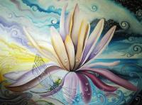 Surreal - Lotus - Oil On Canvas