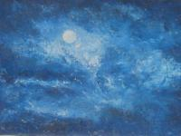 Oil Paintings - Moon - Oil