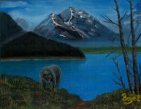 Grizzly Mountain - Grizzly Mouna - Oil