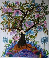Figurative - Tree Of Life - Acrylic On Canvas