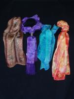 Scarves - Oblong Scarves - Silk Painting