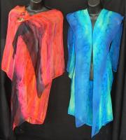 Clothing - Capes - Silk Painting