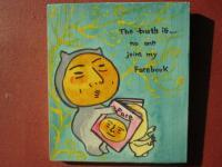 The Truth Is - The Truth Is 15 - Watercolor On Plywood