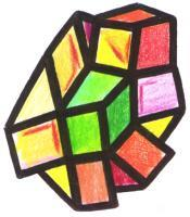 Cubes - Color Humancube - Pen Paper Colors
