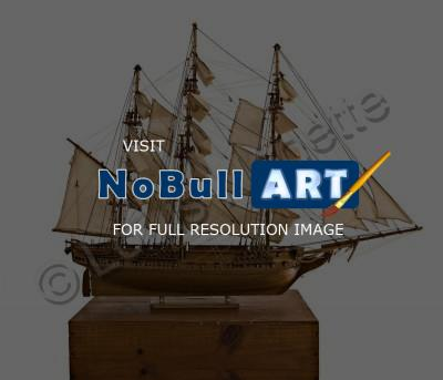 Model Of Uss Constitution - Model Ship Uss Constitution - Large