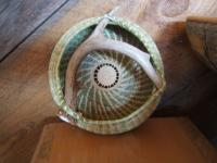 Basketry - Sweettgrass Antler Basket - Sweetgrass