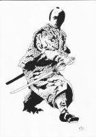 1 - Samurai - Ink