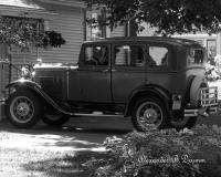 Vintage In The Drive - Photo  Digital Photography - By Alexander Drumm, Landscape Photography Artist