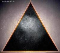 Triangularism - Black Triangle - Oil On Canvas