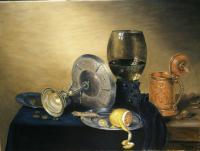 Old Master Style Breakfast With Lemon - Oil On Canvas Paintings - By Gary Sisco, Old Master Painting Artist