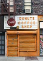 New York Storefronts - Donuts Coffee Shop - Mixed Media Sculpture By Randy Hage - Mixed