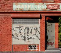 New York Storefronts - Brooklyn Sandwich Shop - Mixed Media Sculpture By Randy Hage - Mixed