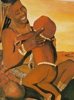 Collection - Himba Mom - Watercolor