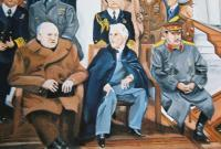 Historical - Yalta Conference - Oils In Canvas