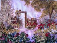 2012 - Rose Garden - Silk Ribbon