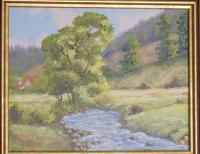 Realistic - Bavarian Meadow - Oil Paint