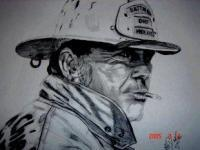 Fire - Chief - Pencil