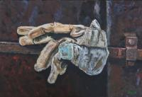 Gloves - Acrylics Paintings - By Voye Daniel, Realism Painting Artist
