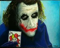 The Joker - My Card - Colored Pencil