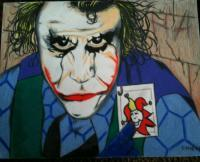 The Joker - My Get Out Of Jail Free Card - Colored Pencil